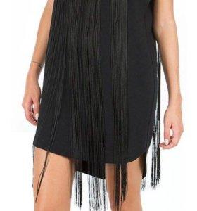 Платье с бахромой Новое