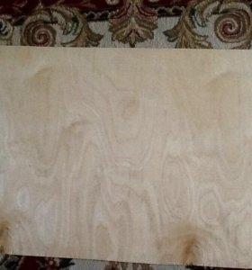 Фанерное полотно толщина(5мм)2 шт.