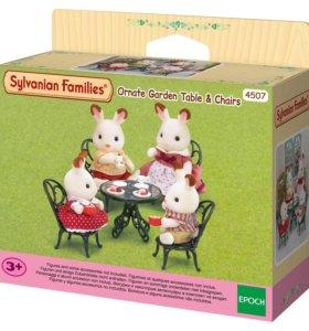 Sylvanian Families новые наборы буфет, мебель