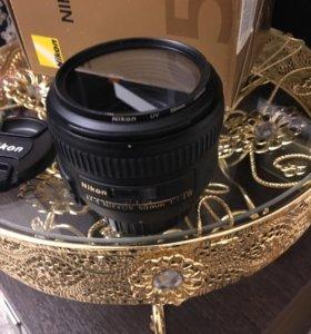 Объектив Nikon AF-S nikkor 50mm/1:1.4 G