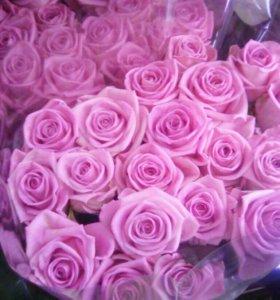 Цветы спб розовые розы