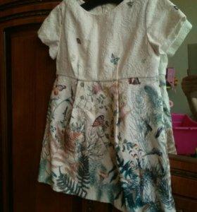 Zara платье рост 98