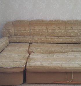 Диван и 2 кресла-кровати