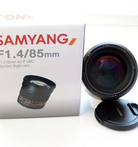 Объектив Samyang 85mm f/1.4 AS IF UMC AE Nikon F