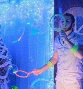 Аниматоры. Шоу химическое и мыльных пузырей. Супер