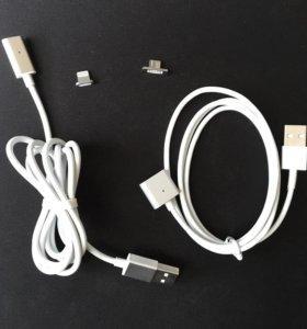 Магнитный кабель iPhone android