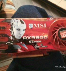 Видеокарта msi rx3800