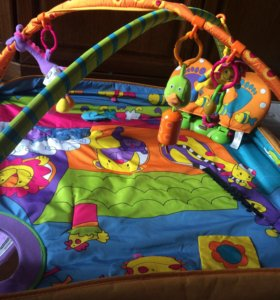 Развивающий коврик Tiny love Зоосад в идеале!!!