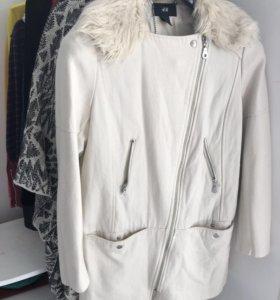 Пальто H&M шерстяное. Торг