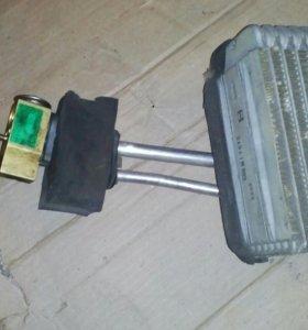 Радиатор кондиционера салонный Рено симбол