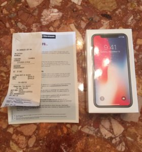 IPhone X Space Gray, 64 GB