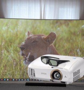 Домашний 3D проектор Epson 3LCD. На гарантии.