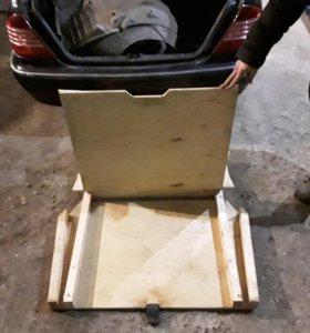 Двойной пол в багажник лада приора универсал