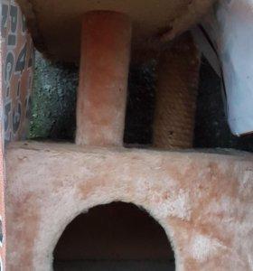 Продаю домик с когтеточкой для кошки