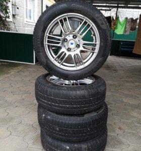 комплект колес в хорошем состоянии