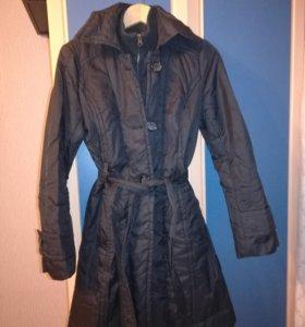Пальто стёганое, демисезонное