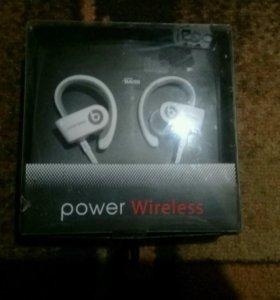 Наушники power wireless
