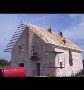 От фундамента до крыши