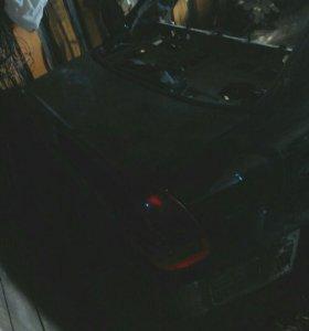 Задняя часть Mercedes w202