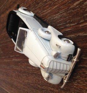 Модели автомобилей 1:43