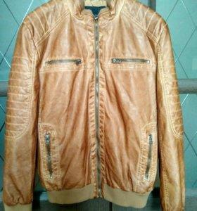 Новая кожаная куртка (кож зам)