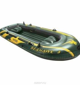 лодка надувная новая 2месная