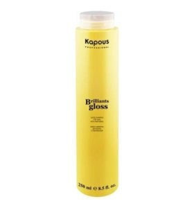 "Бессульфатный шампунь Kapous ""Brilliants gloss"""