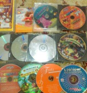 Детские диски с мультфильмами