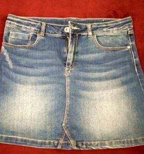 Джинсовая мини юбка Zara Girls Испания