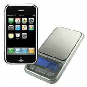 Весы ювелирные карманные IPhone, 100 гр.