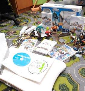 Nintendo Wii с играми