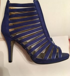 Замшевые туфли, босоножки
