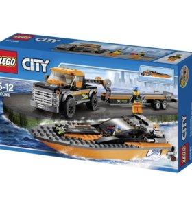 Lego City 60085 Внедорожник с гоночным катером