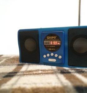 Колонка, радио