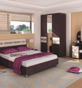Спальня «Ривьера» Новая. В наличии
