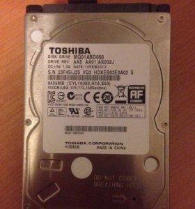 Жёсткий диск для ноутбука toshiba 500 g