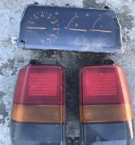 Стоп-сигнал и приборы Mazda-Familia