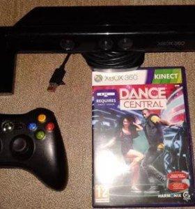 Kinect и джойстик Xbox 360