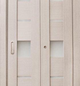 Дверь книжка экошпон полотно 350+350мм новая