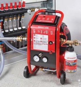 Гидро-пневматическая промывка отопления