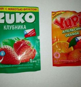 Растворимые фруктовые напитки