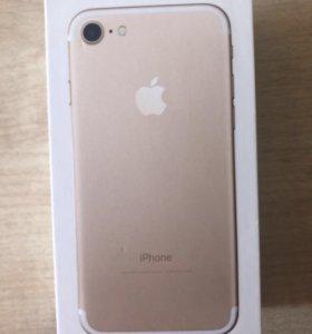Коробка от I phone 7, 128 gb