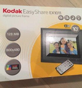 Новая цифровая фоторамка Kodak EX1011