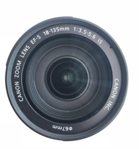 Canon kit 18-135 mm