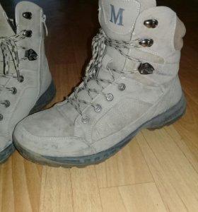 Ботинки мужские зима б/у