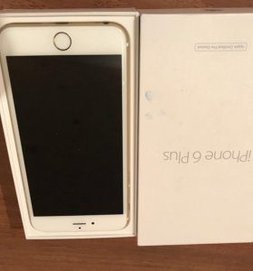 Iphone 6plus 64 gb gold
