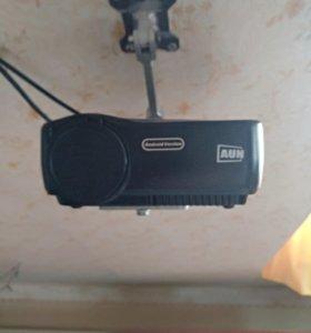 Проектор aun am01p с экраном