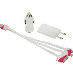 6в1 универсальное зарядное для мобильных устройств