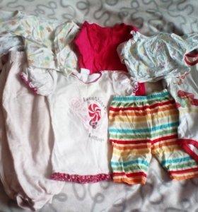 Пакет вещей для ребенка 0-1 год.