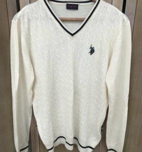 Мужской пуловер US polo